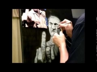 Black Widow Airbrush Art - Airbrush Videos