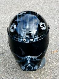 Starwars Tie fighter pilot helmet - helmets