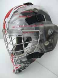300 Goalie Mask - Airbrush Artwoks