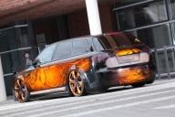 Schön geschnitzt: Audi A4 in Holz-Optik - Tuning Airbrush