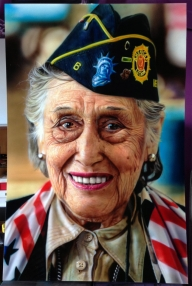 Grandma photorealistic Airbrush portrait https://neoshka.socialdoe.com/ - Top Airbrush Artwork on the Web