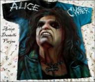 Alice Cooper T-SHIRTS - Kustom Airbrush