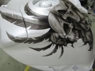 Akull gixxer tank by Jonny5nLala - Kustom Airbrush