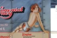 Pin-up close up - Kustom Airbrush