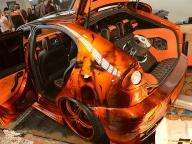 Cars - Crossover Airbrush. Bert Paintking Galster. Airbrush und Lackierungen für Auto, Motorrad und Trucks. - Kustom Airbrush