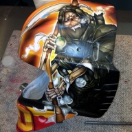 A New Mask for Malcolm - Boston Bruins - Features - Airbrush Artwoks