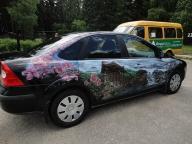 Russia-airbrush-cars - Airbrush Artwoks