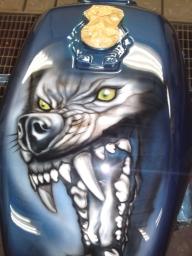 tank...wolf - Airbrush Artwoks