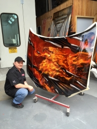 I hope one day to see This Amazing Artist on JustAirbrush - KILLER PAINT - Mr.Lavalle - www.killerpaint.com - Favorite Art