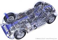 The airbrush artwork of automotive artist Makoto Ouchi - Favorite Art