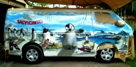 "Another Vending Van for ""Schweppes"" - Happy Feet Theme - AUTO ART"