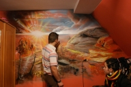Airbrushing Landscape by LukeSobczakAirbrush - Airbrush Artwoks