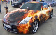 350Z Flames - Airbrush Artwoks