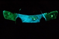 Glowing Car - Airbrush Artwoks