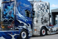 Amazing Truck Airbrush on Scania Trucks  - Kustom Airbrush