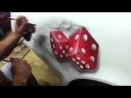 Russ!! here ya go! Dice with smoke 'how to' - Airbrush Forum - Airbrush Videos