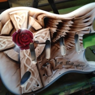 XSPAINT | Custom-painted Guitars, Airbrushed Musical Instruments - Airbrush Artwoks