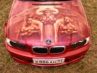 BMW Airbrush Kustom - Airbrush Artwoks