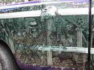 Metallica on Kustom truck - Kustom Airbrush
