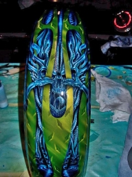 Airbrush on Harley Davidson Forums - Airbrush Artwoks
