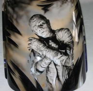 Hairy Design - Airbrush Artwork  - Kustom Airbrush