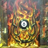 skull true fire - Airbrush Artwoks