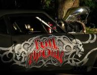 Custom Hot Road - Aerografia su Gomme