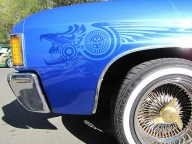 Aztec Airbrush graphic - Tuning Cars Airbrush