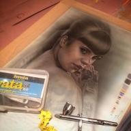 Aibrush Getaway Demo piece. @airoilandlead - Fotorealismo
