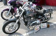custom skulled bike - Kustom Airbrush