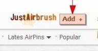 Blog JustAirbrush - How Add Images - Blog.justairbrush.com - JustAirbrush FAQ