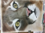 almost finished - Airbrush Step by Step