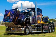 mega truck ghost rider - Kustom Airbrush