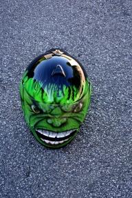 hulk motorcycle helmet - helmets