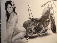 bikegirl - Airbrush Garage