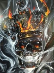 Skull master?Who is it? - Airbrush Artwoks