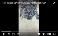 Another great Video step by Marissa - Airbrush Video Tutorials