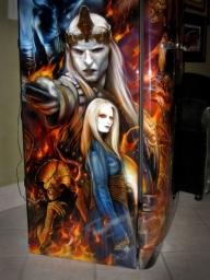 Awesome refrigerator - Airbrush Artwoks
