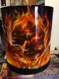 Burn!! - Top Airbrush Artwork on the Web