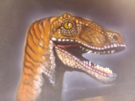 Velociraptor - my works