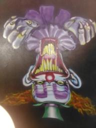 clown killer - my works