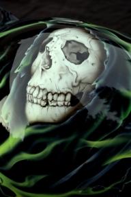 harley Davidson grim reaper - AADesign Kustom Airbrush