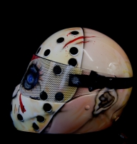 vendredi 13 jason casque moto Friday 13 th , jason helmet - helmets