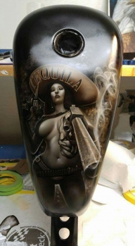 Custom Tank - Tequila - Favorite Art