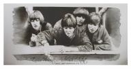monochrome airbrush on canvas, cm.4x50x100 - Airbrush Artwoks