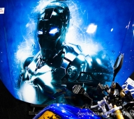 Mr. Stark is here..