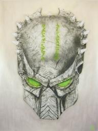 Metal predator mask - Fantasy