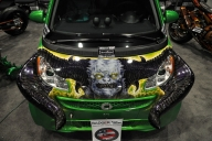 Just A Car Guy: the most amazing Smart car at SEMA, in the Badger Airbrush booth - Tuning Cars Airbrush