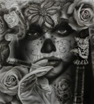 Dia de los Muertos - Airbrush Artwoks