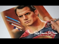 #Video #Airbrush #Superman - Man Of Steel, Hernry Cavill - YouTube - Creative Learning
